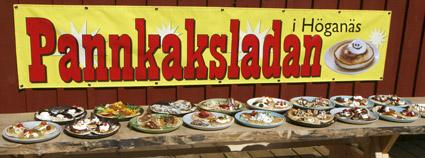 Pann cakes barn in Höganäs